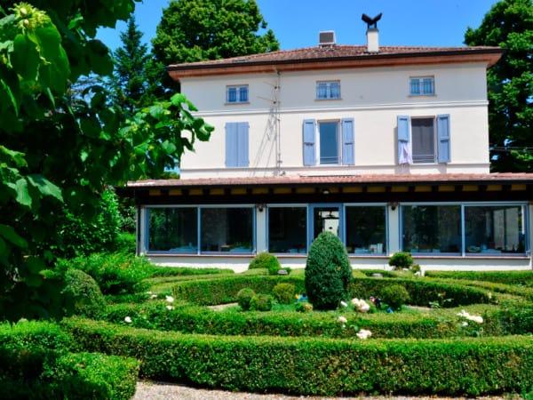 foto della veranda esterna del ristorante Hostaria da Ivan